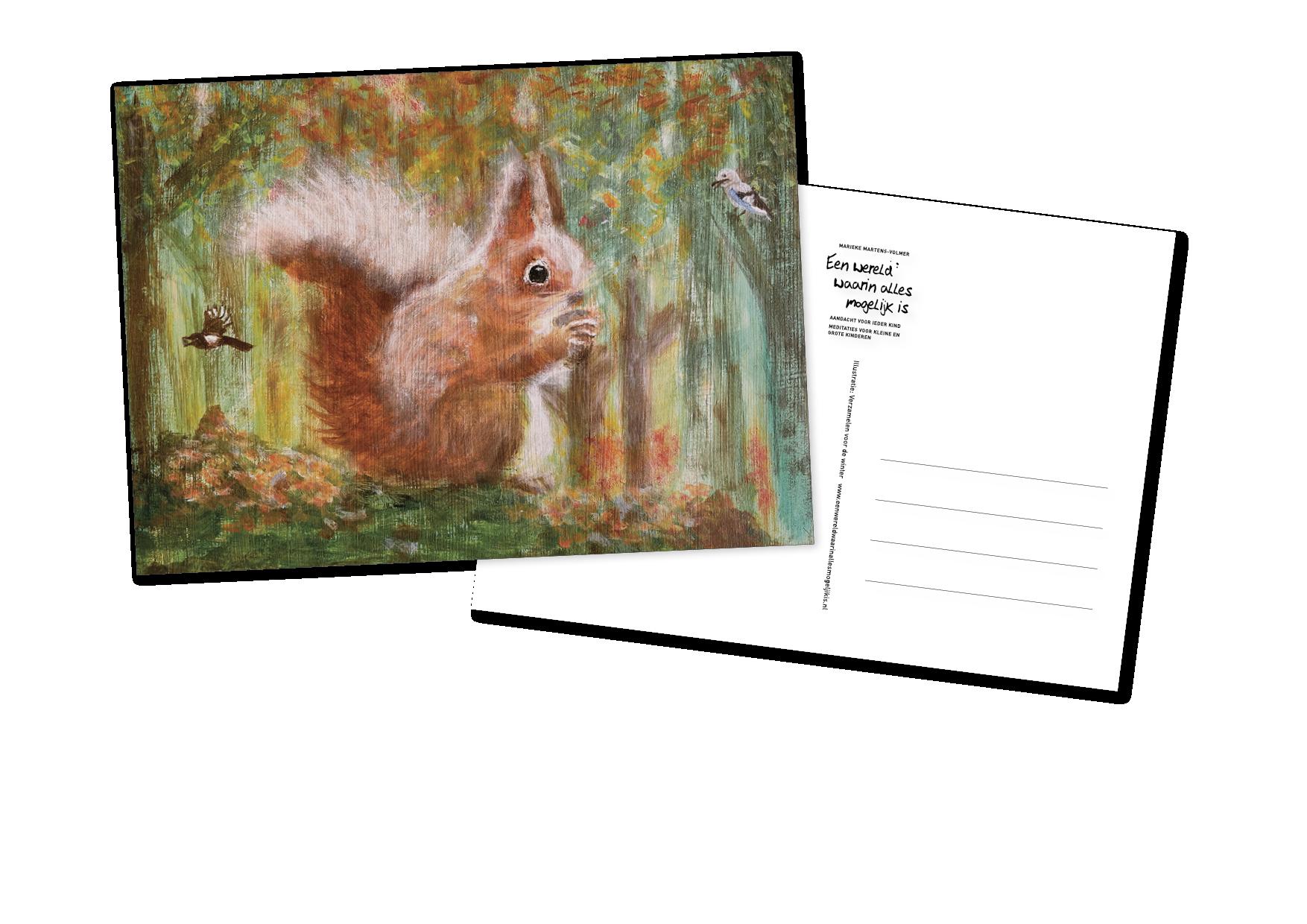 Een wereld waarin alles mogelijk is - postkaartenset 1