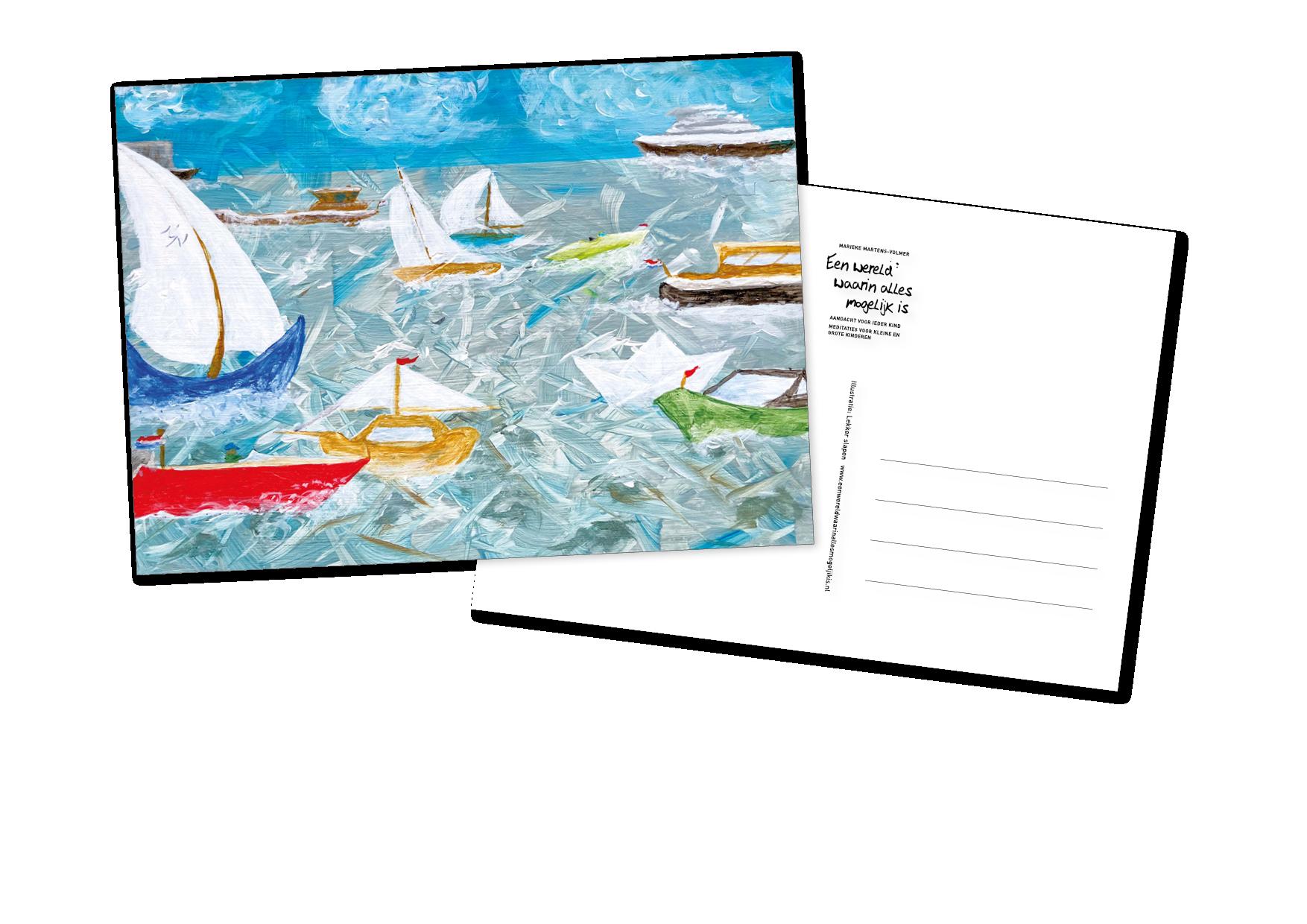 Een wereld waarin alles mogelijk is - postkaartenset 2